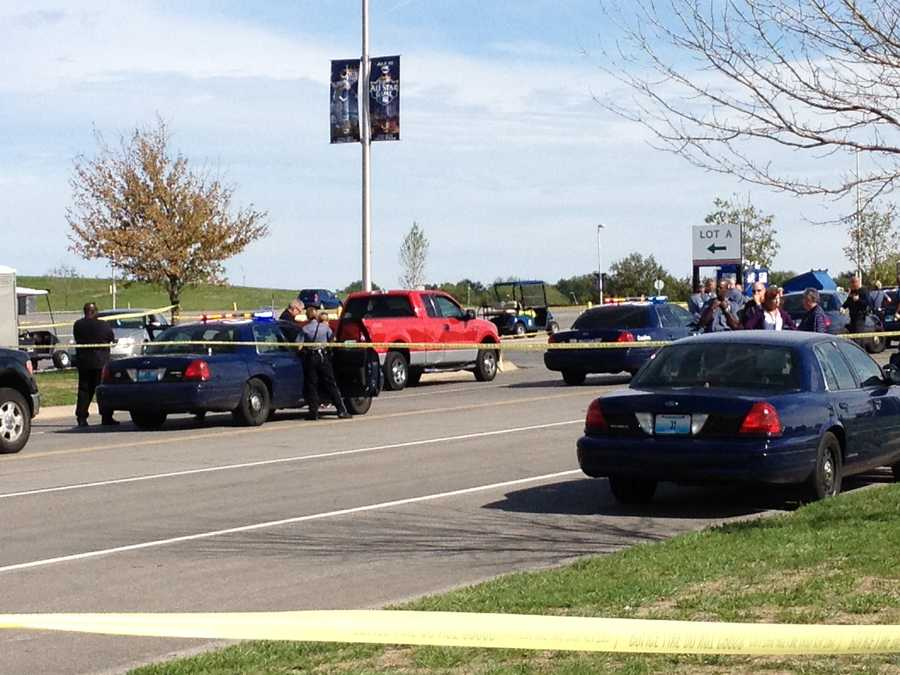 Kansas City police are investigating after a Royals parking lot attendant was shot at the Truman Sports Complex Friday afternoon.