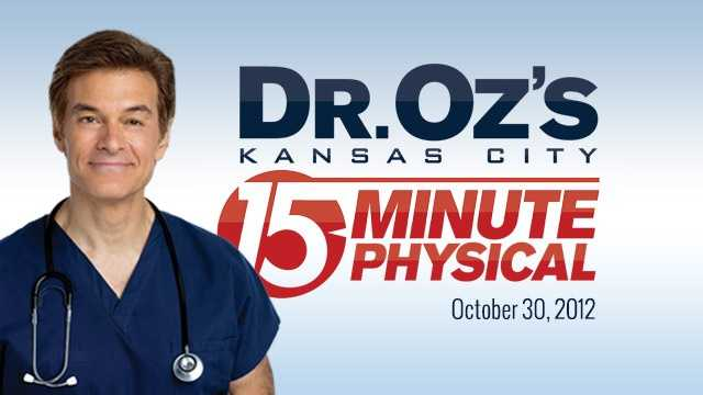 Dr. Oz 15 Minute Physical Comes To Kansas City On Oct. 30
