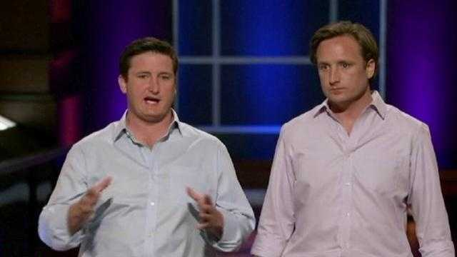 "Two Kansas City businessmen went on ABC's ""Shark Tank"" in hopes of finding investors for the product they came up with."
