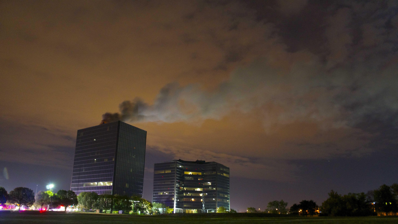 Overland Park high-rise fire