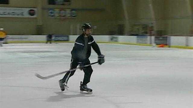 Junior Mavericks get stolen hockey gear back