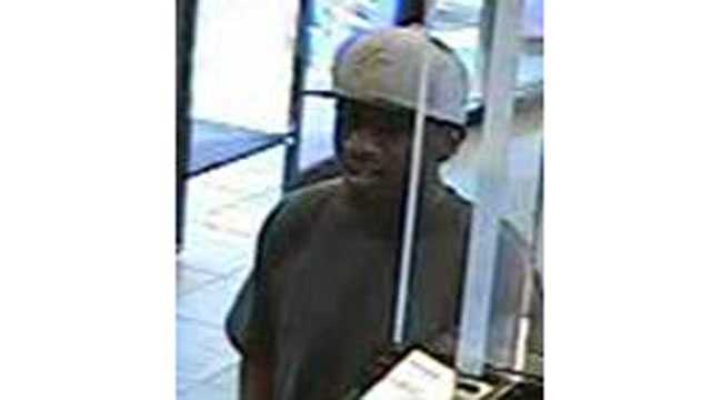 The FBI released pictures from a robbery Tuesday at US Bank at 221 W. Gregory Blvd.
