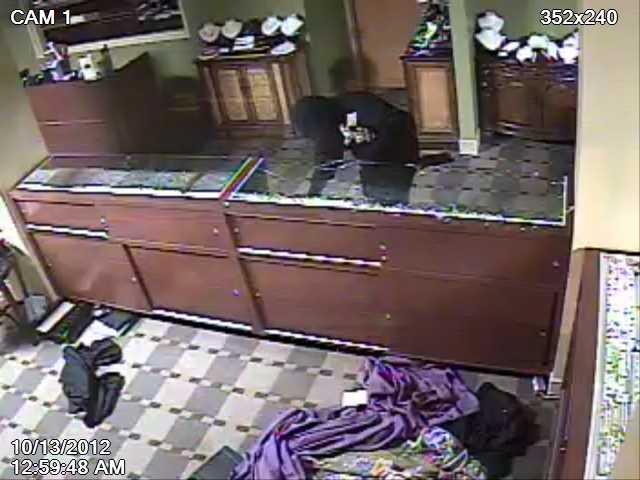 Overland Park, Kan., police released surveillance pictures from a jewelry store burglary in the 11600 block of Metcalf Avenue on Oct. 13. The break-in happened about 1 a.m.