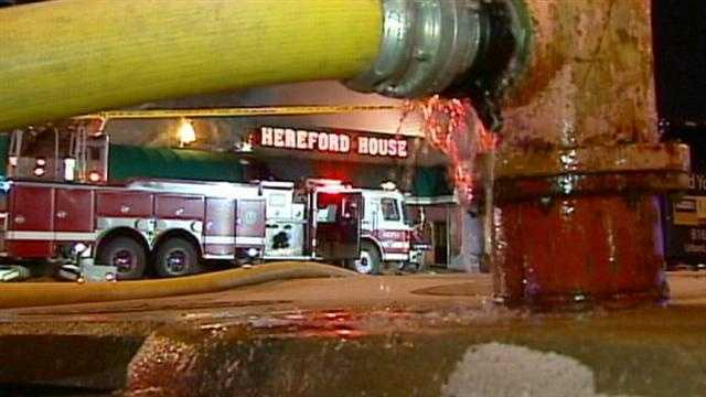 A federal jury has convicted three people in connection with the 2008 arson that destroyed landmark downtown Kansas City restaurant Hereford House
