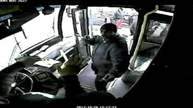 Police seek man who struck KC bus driver