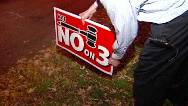 Now that the election is over, the clock is ticking for people to get their campaign signs out of their yards.