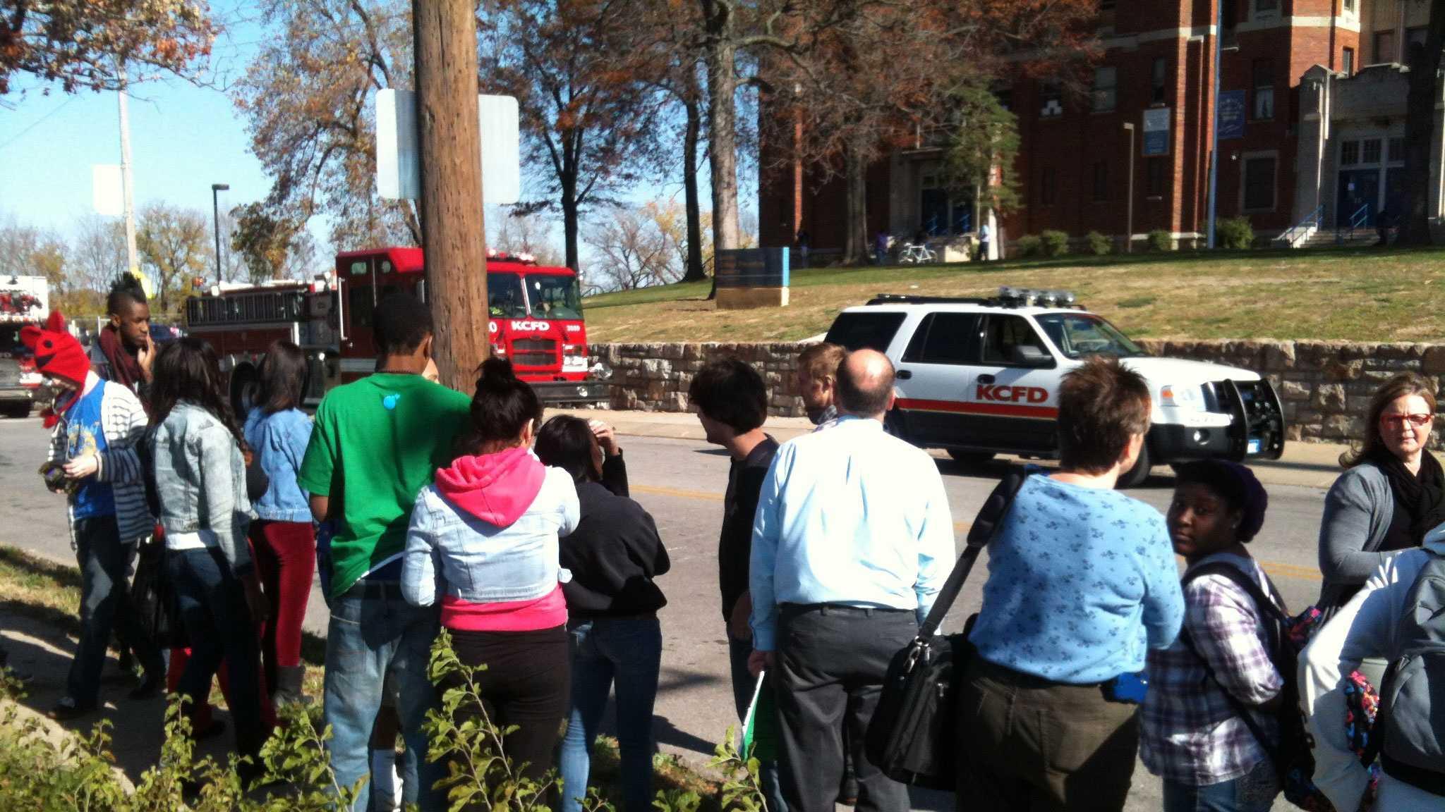 Lincoln College Prep evacuation