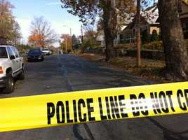 A 2-year-old boy was injured in a drive-by shooting on Friday morning near 16th Street and Topping Avenue.
