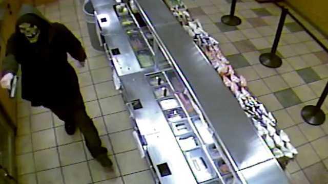 Image: Subway robbery