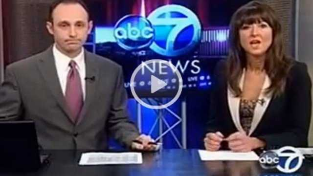 Watch: TV news anchors quit during newscast