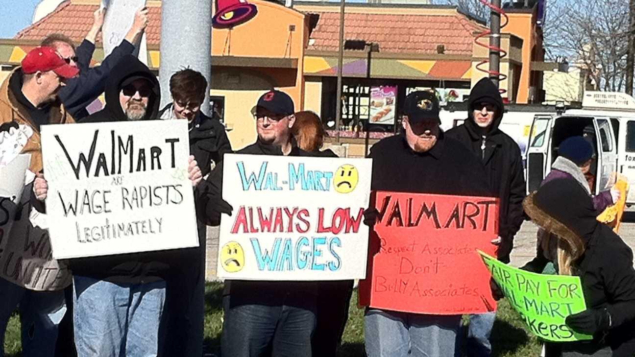 Roeland Park Walmart protest