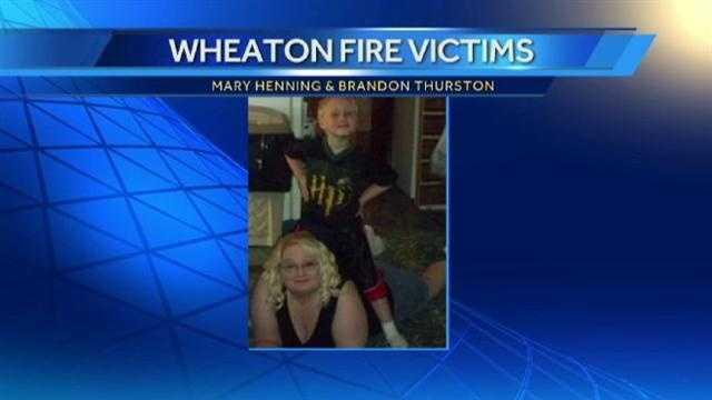 Image Wheaton Missouri fire victims