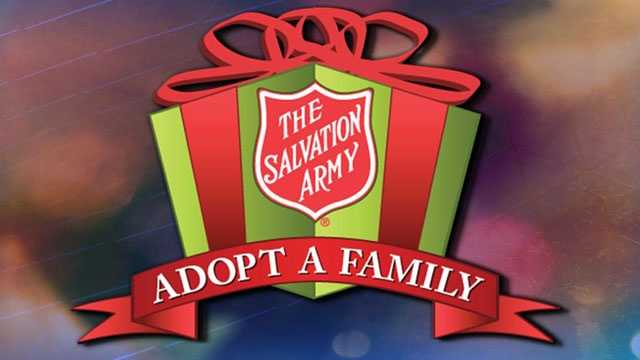 Adopt-A-Family graphic