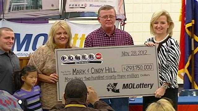 Powerball millionaires announce plans for winnings