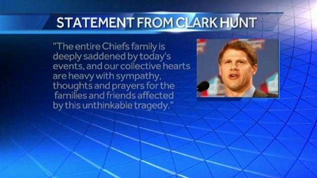 Clark Hunt statement