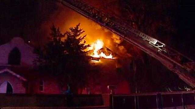 Seventh Street, Prospect Avenue, 2-alarm fire