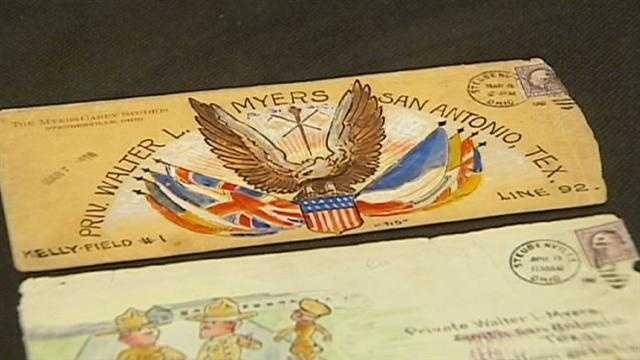 Image World War I museum envelopes