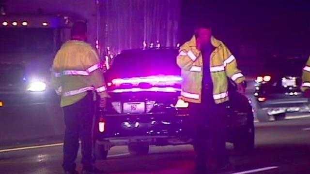 Pedestrian killed on Interstate 29