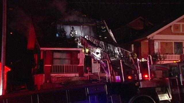 22nd, Brighton house fire
