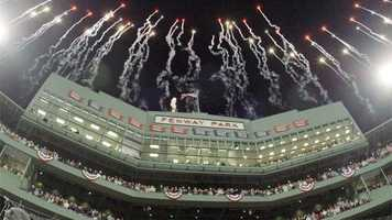 6) Fenway Park - Boston - Home of the Red Sox
