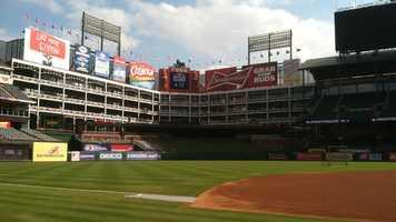 5) Rangers Ballpark - Arlington - Home of the Texas Rangers