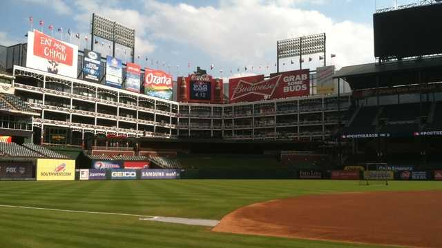 5) Rangers Ballpark - Arlington - Home of the Texas Rangers