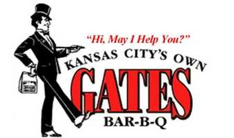 7) Gates Bar-B-Q Restaurant