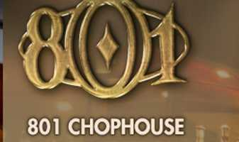 4) 801 Chophouse