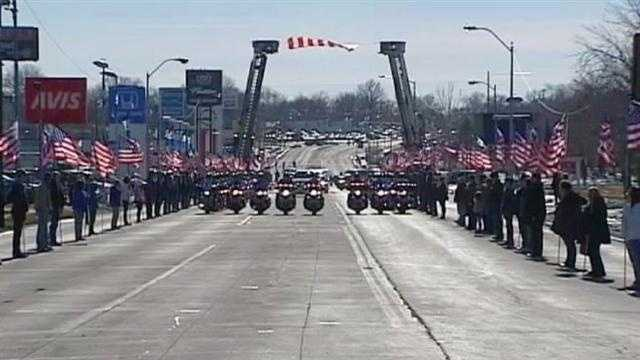 Saturday was a day of rememberance and mourning as the two officers slain last Sunday were laid to rest.