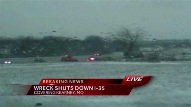 Image I-35 wreck