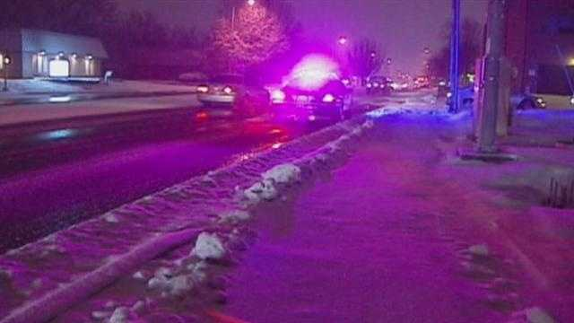 Police turn eyes to drunken drivers on icy night