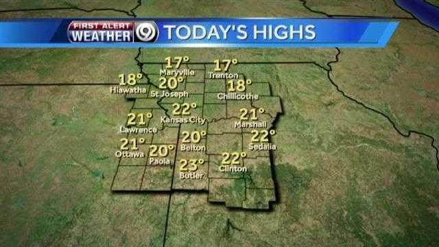 Tuesday high graphic