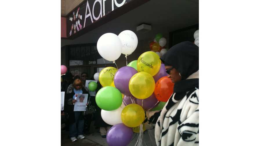 The AdHoc Group Against Crime held a New Year's Day prayer for all families who have lost loved ones to homicide.
