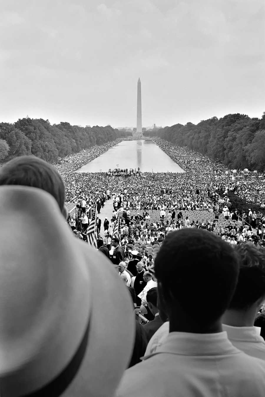 "50 Years Ago: Martin Luther King, Jr. delivers his ""I have a Dream"" speech during the March on Washington."