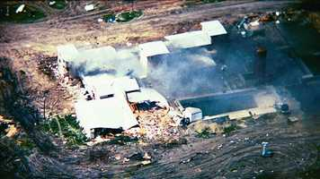 20 Years Ago: Members of the Branch-Davidian cult die when their compound near Waco, Texas, burns, ending a 50-day siege with federal agents.