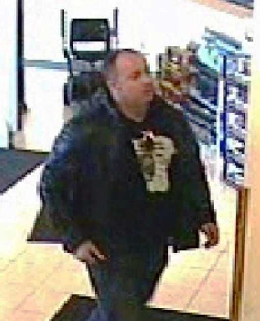 Overland Park, Kan., police are asking for help identifying a man suspected of using credit cards that were stolen from a man's wallet at a health club.