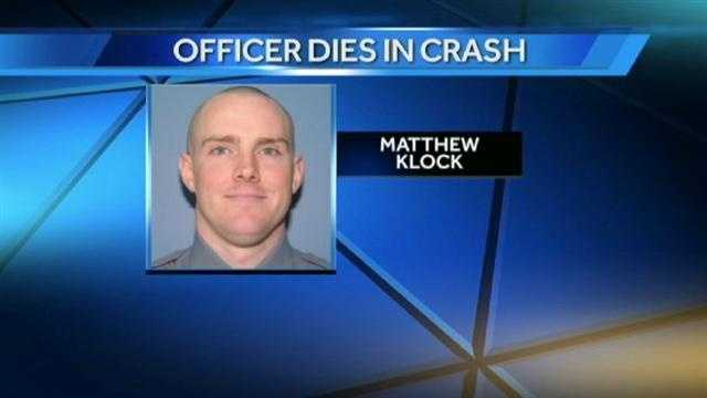 Neighbors remember Matthew Klock, the 29-year-old off-duty Lawrence police officer who was killed early Wednesday after his car crashed into a traffic signal pole.