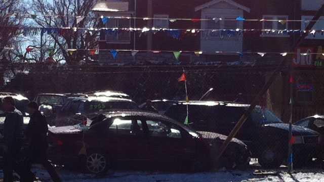 Truman Road, White Avenue, chase crash