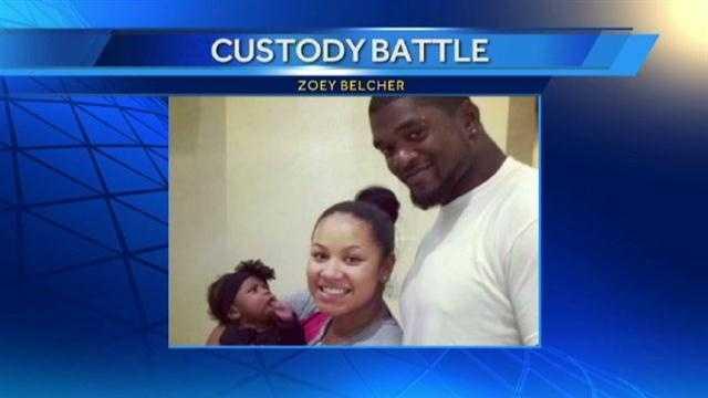 Jovan Belcher custody battle