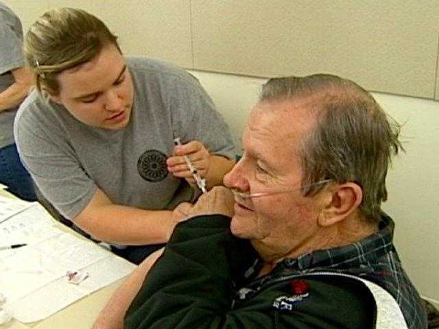 The CDC says it's still not too late to get a flu shot.  While there are many different flu viruses, a flu vaccine protects against the three viruses that research suggests will be most common, the CDC said.