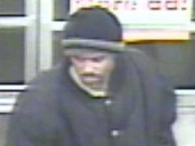 Kansas City, Kan., police are looking for a man wanted suspicion in robberies at a Walgreens store and two Family Dollar stores on Jan. 7.