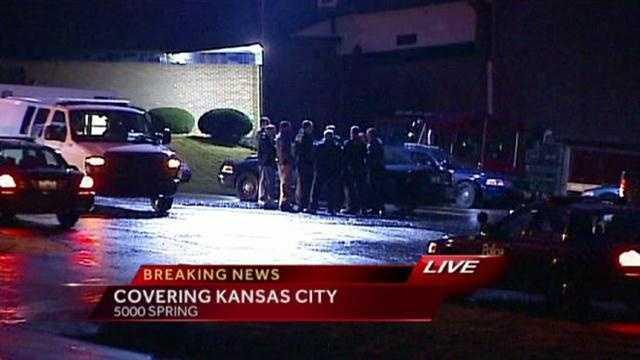 KCPD standoff on Spring Street