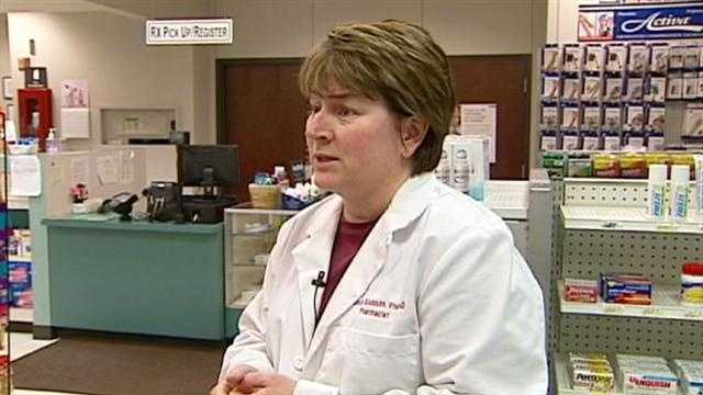 A Kansas City pharmacist offers advice to people who are hoping to avoid getting the flu, or hoping to get well faster if they're already sick.