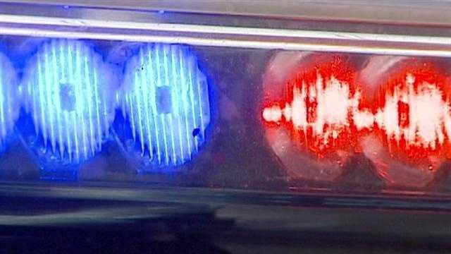 Image generic police lights daytime