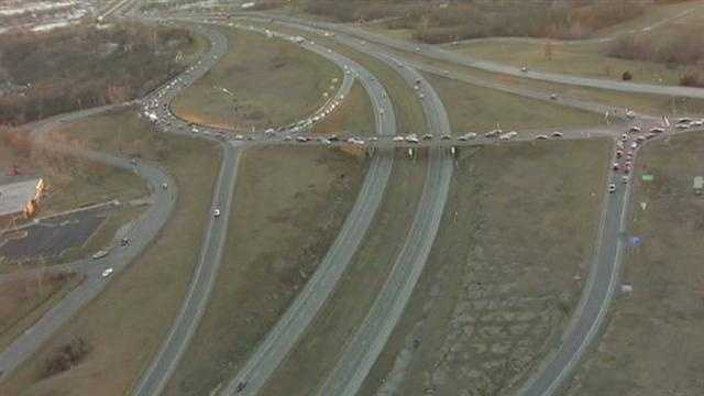Image I-35 and Mo. 291 construction