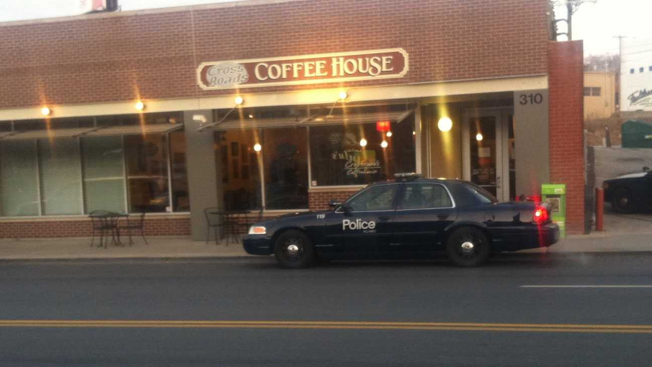 Crossroads Coffee House robbery