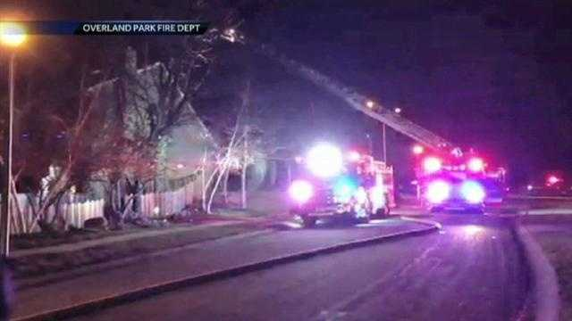 Overland Park house fire