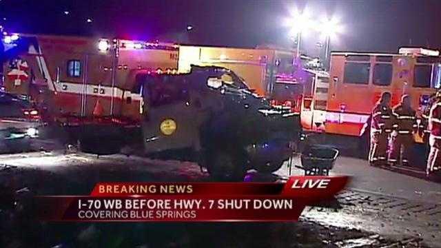 Image I-70 truck crash