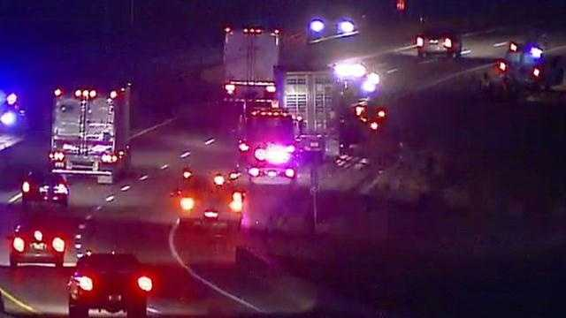 I-70 crash near Lawrence