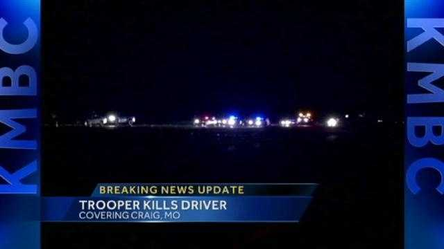 Mo. trooper shoots, kills driver near Craig